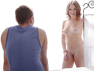 Tatiana came several times when I fucked her finally and she begged for more